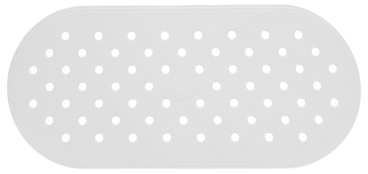 Коврик для ванной Ridder Action, противоскользящий, на присосках, цвет: белый, 36 х 80 см167021Коврик для ванной Ridder Action, изготовленный из каучука с защитой от плесени и грибка, создает комфортное антискользящее покрытие в ванне. Крепится к поверхности при помощи присосок. Изделие удобно в использовании и легко моется теплой водой.