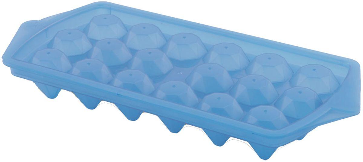 Форма для льда Plastic Centre Luxor, цвет: голубой, прозрачный, 27 х 12,3 смПЦ2281ГЛПРНаша форма для заморозки льда состоит из двух половинок - это предохранит лед от впитывания посторонних запахов. Привлекательный дизайн и удобство в применении.