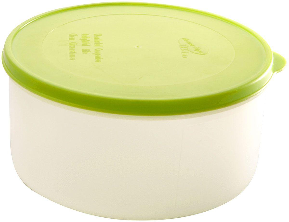 Емкость для продуктов Plastic Centre Bio, цвет: светло-зеленый, прозрачный, 0,5 лПЦ2371ЛММногофункциональная емкость для хранения различных продуктов, разогрева пищи, замораживания ягод и овощей в морозильной камере и т.п. При хранении продуктов в холодильнике емкости можно ставить одну на другую, сохраняя полезную площадь холодильника или морозильной камеры. Широкий ассортимент цветов удовлетворит любой вкус и потребности.