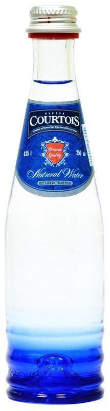 Courtois питьевая артезианская вода высшей категории негазированная, 0,25 л010500-0024124Куртуа – питьевая вода высшей категории, которая не только отлично удаляет жажду, но и полезна для здоровья человека. Добывается из собственных артезианских скважин с глубины 105 м, расположенных в экологически чистой природной зоне Подмосковья. Куртуа содержит оптимальный состав йода и фтора для восполнения дефицита этих микроэлементов в организме человека, снабжает организм всеми необходимыми минералами, но не перегружает его солями. Куртуа можно пить без ограничений любому человеку, вне зависимости от возраста и образа жизни. Подходит для повседневного использования.