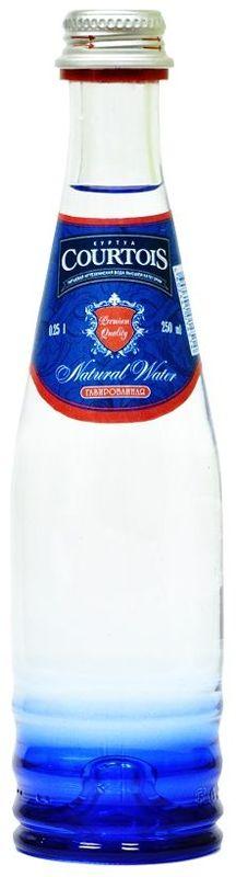 """""""Courtois"""" питьевая артезианская вода высшей категории газированная, 0,25 л 010500-0024125"""
