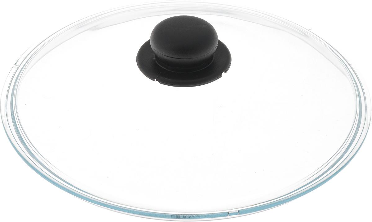 Крышка Ballarini, стеклянная. Диаметр 28 см334602.28Крышка Ballarini изготовлена из высококачественного жаростойкого стекла с пластиковой ручкой. Изделие удобно в использовании и позволяет контролировать процесс приготовления пищи. Диаметр крышки: 28 см.