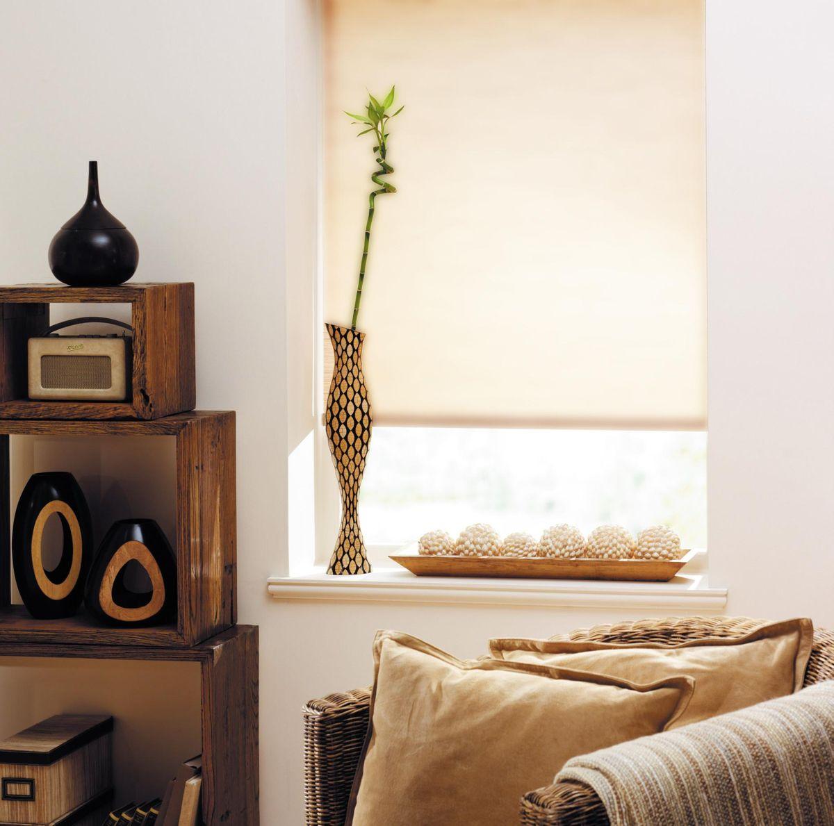 Штора рулонная Эскар, цвет: бежевый лен, ширина 60 см, высота 170 см80409060170Рулонными шторами можно оформлять окна как самостоятельно, так и использовать в комбинации с портьерами. Это поможет предотвратить выгорание дорогой ткани на солнце и соединит функционал рулонных с красотой навесных. Преимущества применения рулонных штор для пластиковых окон: - имеют прекрасный внешний вид: многообразие и фактурность материала изделия отлично смотрятся в любом интерьере; - многофункциональны: есть возможность подобрать шторы способные эффективно защитить комнату от солнца, при этом о на не будет слишком темной. - Есть возможность осуществить быстрый монтаж. ВНИМАНИЕ! Размеры ширины изделия указаны по ширине ткани! Во время эксплуатации не рекомендуется полностью разматывать рулон, чтобы не оторвать ткань от намоточного вала. В случае загрязнения поверхности ткани, чистку шторы проводят одним из способов, в зависимости от типа загрязнения: легкое поверхностное загрязнение можно удалить при помощи...