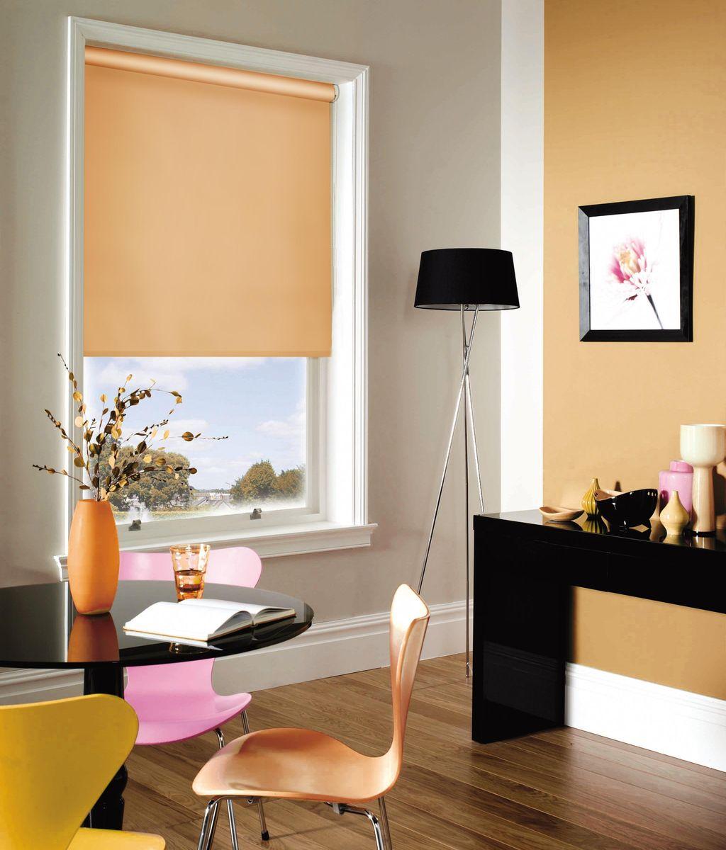 Штора рулонная Эскар, цвет: абрикосовый, ширина 80 см, высота 170 см81012080170Рулонными шторами можно оформлять окна как самостоятельно, так и использовать в комбинации с портьерами. Это поможет предотвратить выгорание дорогой ткани на солнце и соединит функционал рулонных с красотой навесных. Преимущества применения рулонных штор для пластиковых окон: - имеют прекрасный внешний вид: многообразие и фактурность материала изделия отлично смотрятся в любом интерьере; - многофункциональны: есть возможность подобрать шторы способные эффективно защитить комнату от солнца, при этом она не будет слишком темной. - Есть возможность осуществить быстрый монтаж. ВНИМАНИЕ! Размеры ширины изделия указаны по ширине ткани! Во время эксплуатации не рекомендуется полностью разматывать рулон, чтобы не оторвать ткань от намоточного вала. В случае загрязнения поверхности ткани, чистку шторы проводят одним из способов, в зависимости от типа загрязнения: легкое поверхностное загрязнение можно удалить при помощи канцелярского ластика; чистка от пыли производится сухим методом при...