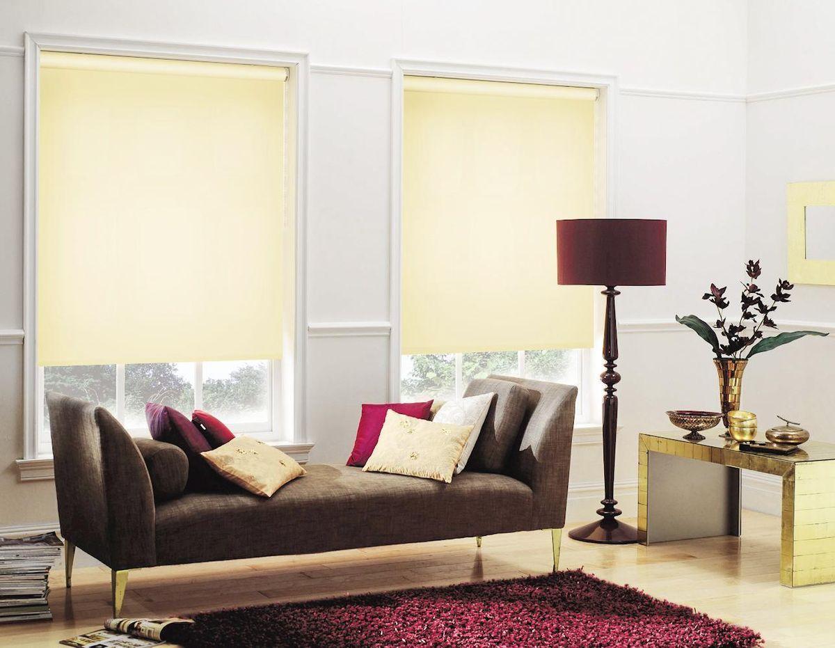 Штора рулонная Эскар, цвет: светлый лимон, ширина 120 см, высота 170 см81115120170Рулонными шторами можно оформлять окна как самостоятельно, так и использовать в комбинации с портьерами. Это поможет предотвратить выгорание дорогой ткани на солнце и соединит функционал рулонных с красотой навесных. Преимущества применения рулонных штор для пластиковых окон: - имеют прекрасный внешний вид: многообразие и фактурность материала изделия отлично смотрятся в любом интерьере; - многофункциональны: есть возможность подобрать шторы способные эффективно защитить комнату от солнца, при этом она не будет слишком темной. - Есть возможность осуществить быстрый монтаж. ВНИМАНИЕ! Размеры ширины изделия указаны по ширине ткани! Во время эксплуатации не рекомендуется полностью разматывать рулон, чтобы не оторвать ткань от намоточного вала. В случае загрязнения поверхности ткани, чистку шторы проводят одним из способов, в зависимости от типа загрязнения: легкое поверхностное загрязнение можно удалить при помощи канцелярского ластика; чистка от пыли производится сухим методом при...