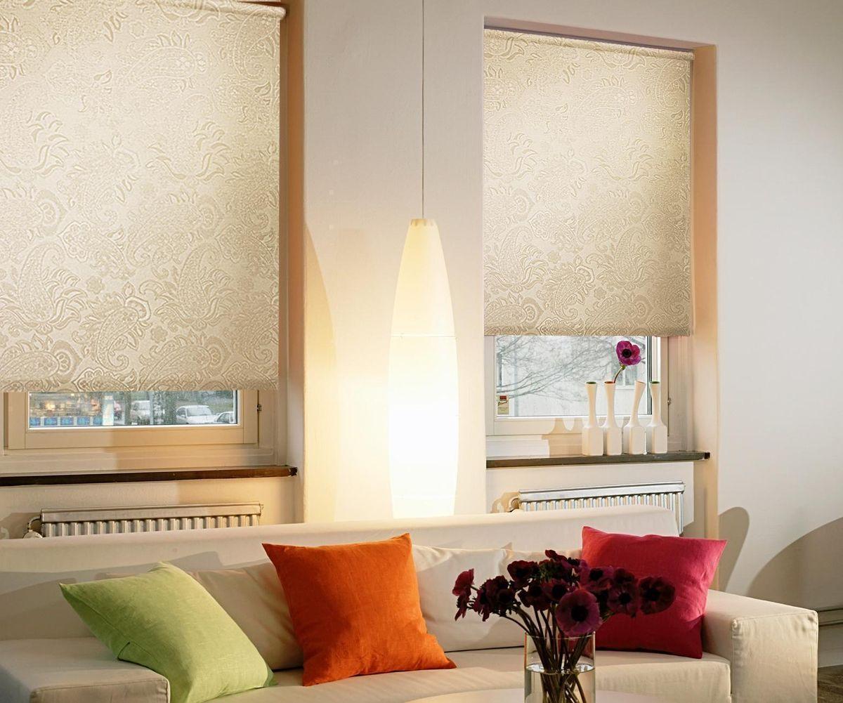 Штора рулонная Эскар Арабеска, цвет: молочный, ширина 172 см, высота 160 см88929172160Рулонными шторами можно оформлять окна как самостоятельно, так и использовать в комбинации с портьерами. Это поможет предотвратить выгорание дорогой ткани на солнце и соединит функционал рулонных с красотой навесных. Преимущества применения рулонных штор для пластиковых окон: - имеют прекрасный внешний вид: многообразие и фактурность материала изделия отлично смотрятся в любом интерьере; - многофункциональны: есть возможность подобрать шторы способные эффективно защитить комнату от солнца, при этом она не будет слишком темной. - Есть возможность осуществить быстрый монтаж. ВНИМАНИЕ! Размеры ширины изделия указаны по ширине ткани! Во время эксплуатации не рекомендуется полностью разматывать рулон, чтобы не оторвать ткань от намоточного вала. В случае загрязнения поверхности ткани, чистку шторы проводят одним из способов, в зависимости от типа загрязнения: легкое поверхностное загрязнение можно удалить при помощи канцелярского ластика; чистка от пыли производится сухим методом при...