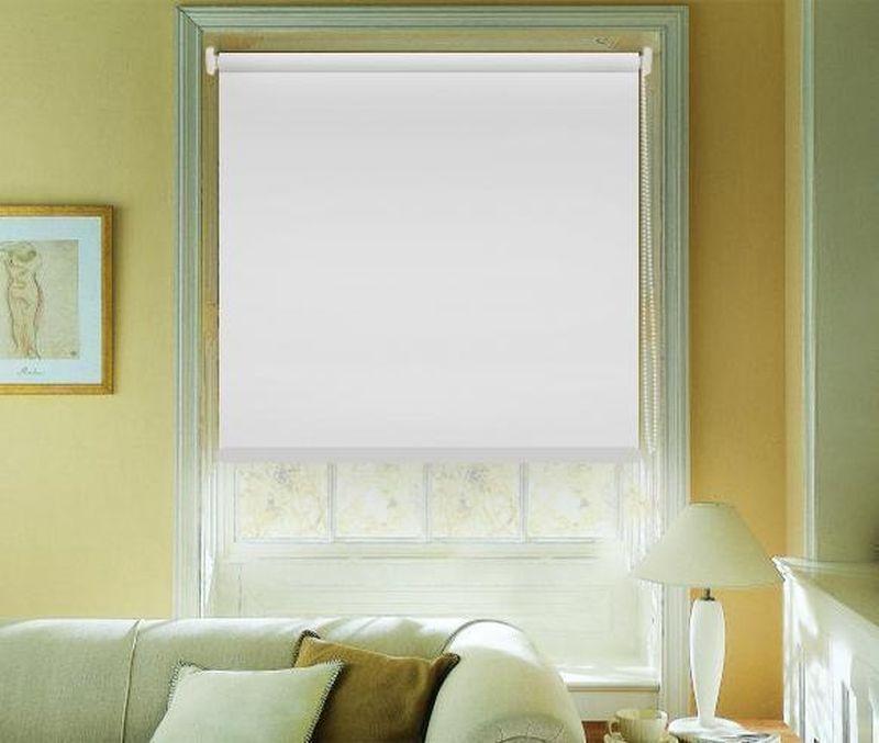 Штора рулонная Эскар Blackout, светоотражающая, цвет: белый, ширина 150 см, высота 170 см89008150170Рулонными шторами можно оформлять окна как самостоятельно, так и использовать в комбинации с портьерами. Это поможет предотвратить выгорание дорогой ткани на солнце и соединит функционал рулонных с красотой навесных. Преимущества применения рулонных штор для пластиковых окон: - имеют прекрасный внешний вид: многообразие и фактурность материала изделия отлично смотрятся в любом интерьере; - многофункциональны: есть возможность подобрать шторы способные эффективно защитить комнату от солнца, при этом она не будет слишком темной. - Есть возможность осуществить быстрый монтаж. ВНИМАНИЕ! Размеры ширины изделия указаны по ширине ткани! Во время эксплуатации не рекомендуется полностью разматывать рулон, чтобы не оторвать ткань от намоточного вала. В случае загрязнения поверхности ткани, чистку шторы проводят одним из способов, в зависимости от типа загрязнения: легкое поверхностное загрязнение можно удалить при...