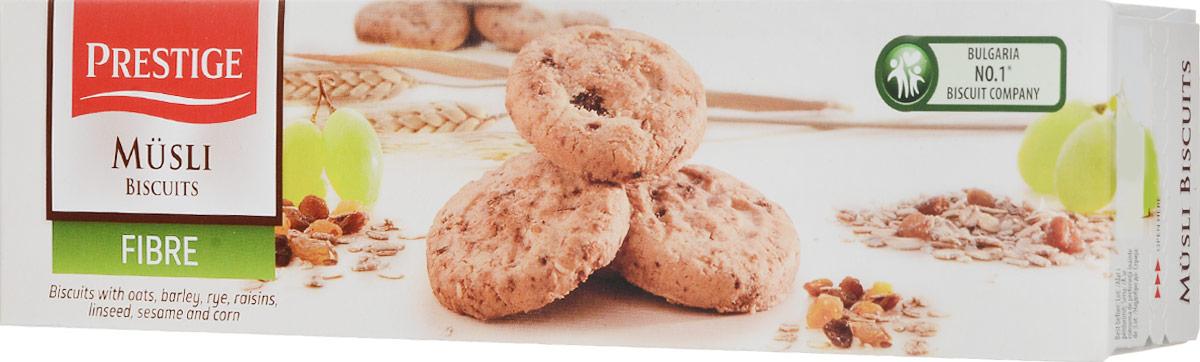 Prestige Печенье мюсли с изюмом, 110 г