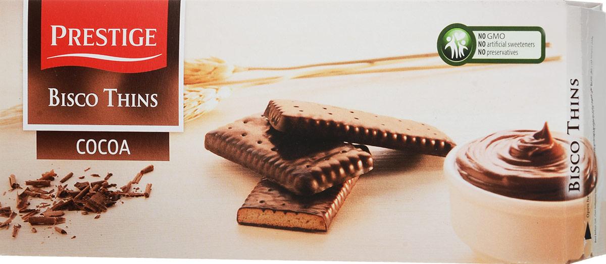 Prestige Бисквитное печенье в какао глазури, 160 г