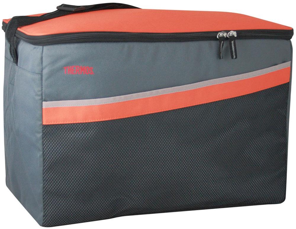 """Термосумка Thermos """"Classic 48 Can Cooler"""", цвет: оранжевый, серый, 33 л 517180"""
