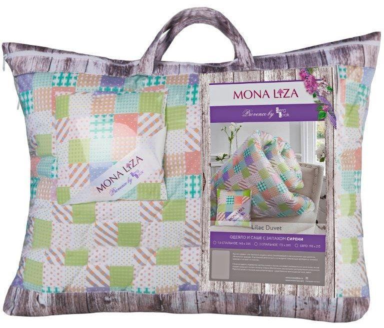 Одеяло Mona Liza Provence аромат Lilac, 140 х 205 см549937/2К каждой подушке и одеялу идет саше. Аромат лаванды, розы, жасмина и сирени непременно окутает комнату легким шлейфом нежнейшего парфюма. Не откажите себе в удовольствие и создайте уникальный интерьер с коллекцией PROVENCE!
