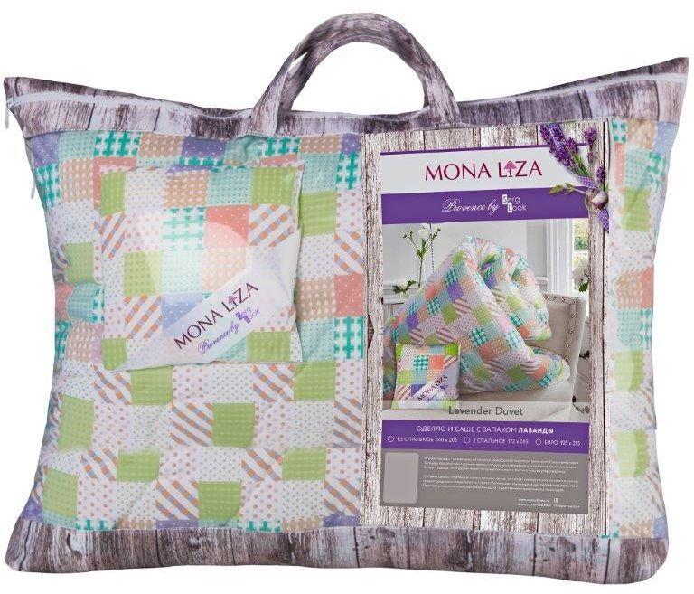 Одеяло Mona Liza Provence аромат Lavender, 195х215 см. 549939/3549939/3К каждой подушке и одеялу идет саше. Аромат лаванды, розы, жасмина и сирени непременно окутает комнату легким шлейфом нежнейшего парфюма. Не откажите себе в удовольствие и создайте уникальный интерьер с коллекцией PROVENCE!