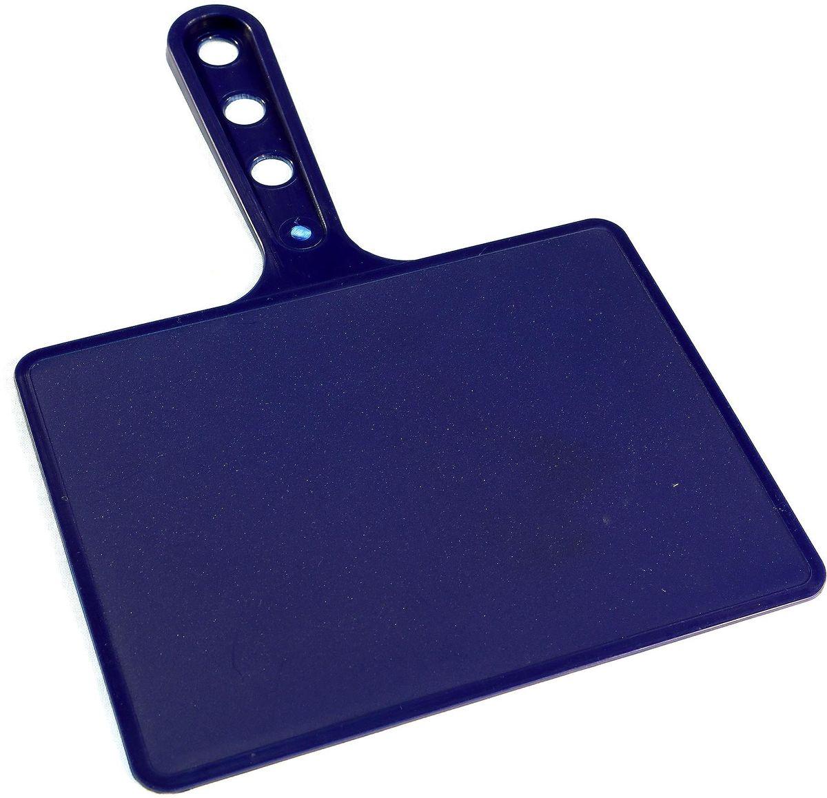 Веер для мангала BG, цвет: синий. 150181150181-С, синийПредназначен для раздува углей в мангале. Изготовлен из высококачественного пластика(ПЭНД), одна сторона глянец, вторая шагрень. Ручка имеет 3 отверстия. Можно использовать как разделочную доску для мяса, нарезки овощей или хлеба. Рабочая поверхность выполнена в виде прямоугольника, размер: 197 х 148 мм.