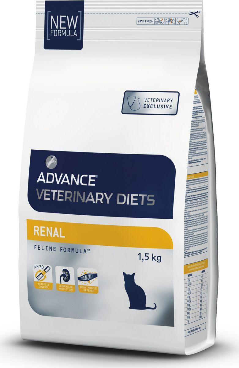 """Корму сухой Advance для кошек при почечной недостаточности """"Renal Failure"""", 1,5 кг. 598211 20755"""