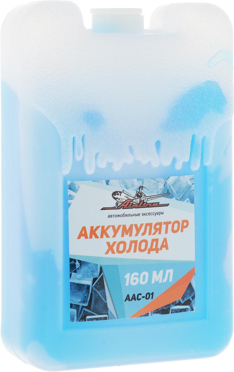 Аккумулятор холода Airline, 160 млAAC-01Аккумулятор холода Airline необходим для обеспечения низких температур в сумках-холодильниках. Перед эксплуатацией аккумулятор необходимо разместить в морозильную камеру на длительный период времени, варьирующийся от 10 до 12 часов. Изделие выполнено из прочного пластика и содержит экологичный карбоксиметилцеллюлозный раствор. Размер аккумулятора: 6,5 х 2,5 х 10,5 см.
