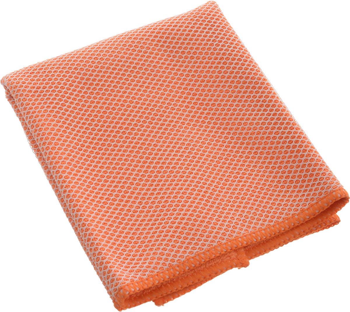 Салфетка Airline, цвет: оранжевый, 35 х 40 смAB-A-04Салфетка из микрофибрового материала имеет мягкую поверхность, которая с особой деликатностью устраняет загрязнения с поверхностей, делая уборку еще более быстрой и комфортной. Состав: 20% полиамид, 80% полиэстер.