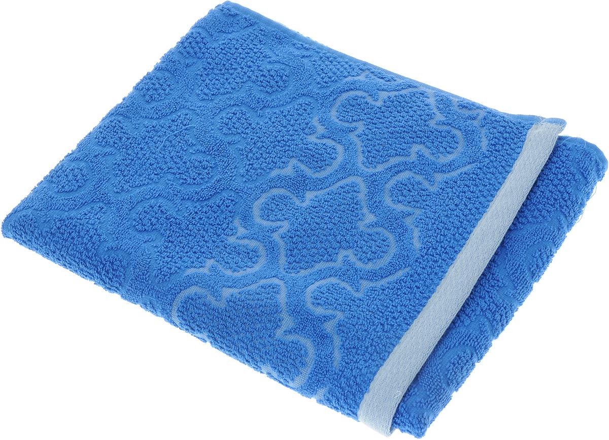 Полотенце махровое Toalla Лагуна, цвет: синий, 50 x 90 см9271730Полотенце махровое Toalla Лагуна выполнено из 100% натурального египетского хлопка. Изделие оформлено изысканным рельефным орнаментом. Ткань полотенца обладает высокой плотностью и мягкостью, отличается высоким качеством и длительным сроком службы. В процессе эксплуатации материал становится только мягче и приятнее на ощупь. Египетский хлопок не содержит линта (хлопковый пух), поэтому на ткани не образуются катышки даже после многократных стирок и длительного использования. Сверхдлинные волокна придают ткани характерный красивый блеск. Полотенце отлично впитывает влагу и быстро сохнет. Такое полотенце красиво дополнит интерьер ванной комнаты и станет практичным приобретением.