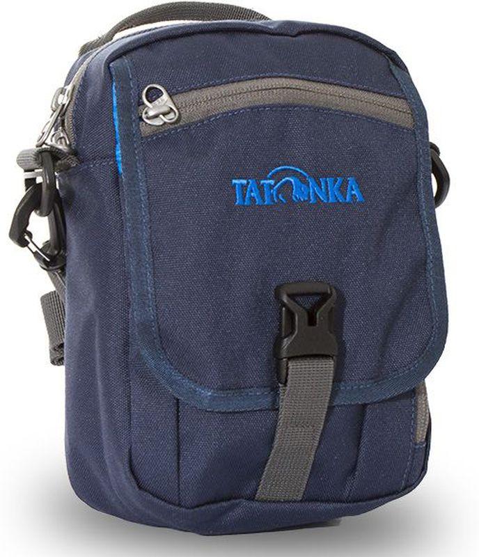 Сумка плечевая Tatonka Check in CLIP, цвет: темно-синий, 22x15x7 смDI.2966.004Городская сумка для документов, ключей и кошелька