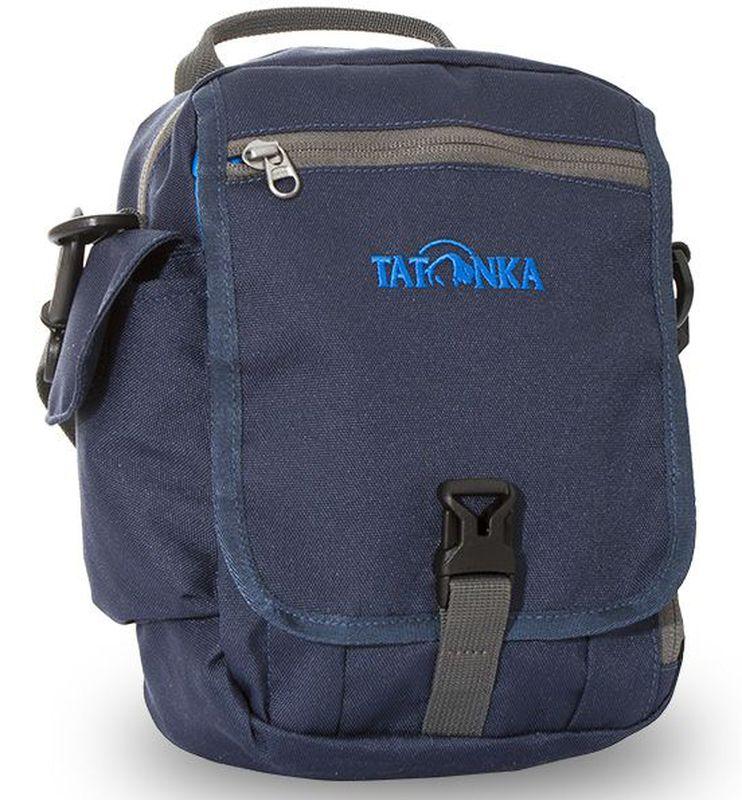 Сумка плечевая Tatonka Check in XT CLIP, цвет: темно-синий, 23x17x8 смDI.2967.004Городская сумка для документов, ключей и кошелька
