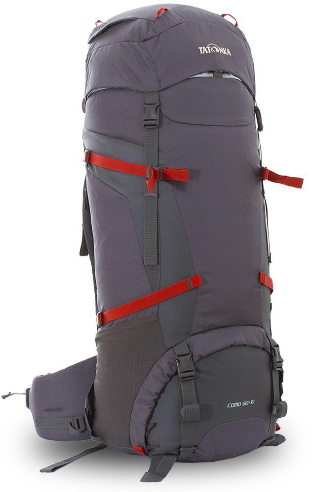 Рюкзак туристический Tatonka Como 60+10л, цвет: серый, 89x32x30 смDI.6020.021Рюкзак для пеших походов и путешествий.