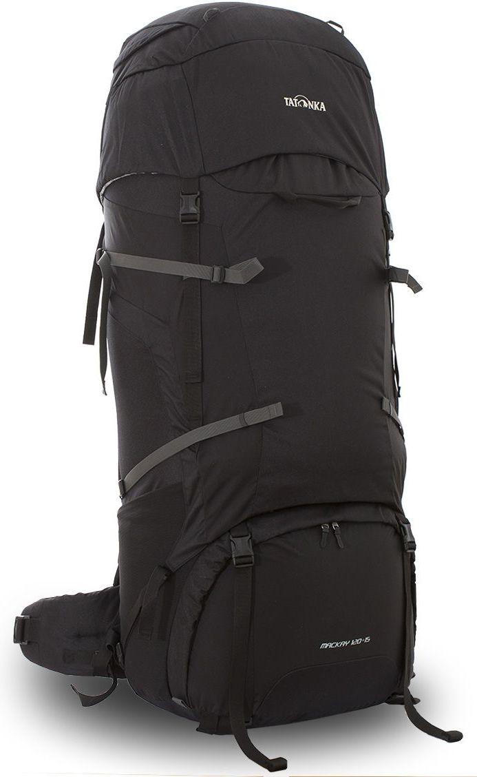 Рюкзак туристический Tatonka Mackay 120+15л, цвет: черный, 114x42x35 смDI.6028.040Классический туристический рюкзак большого объема. Рюкзак Mackay 120+15 выполенен в строгом дизайне из прочной ткани Textreme 6.6. Два внутренних отделения позволят с удобством разместить все необходимые в походе или путешествии вещи. За счет объемной крышки и расширяющегося основного отделения объем рюкзака достигает 135 литров. Прочная удобная спина рюкзака выполнена с учетом анатомических особенностей спины человека, благодаря этому с рюкзаком будет комфортно идти даже в продолжительном походе. Нижнее и основное отделения рюкзака разделены съемной перегородкой на молнии, одним движением их можно соединить между собой или снова разделить. Доступ в основное отделение осуществляется через верхний расширяющийся вход или через центральны 3D-доступ. Молния 3D-доступа имеет два бегунка, что позволяет легко достать или положить любые конкретные вещи. Молния в нижнее отделение так же оснащена молнией с двумя бегунками. В центральной части рюкзак имеет две прошитых стропы-molle, благодаря...