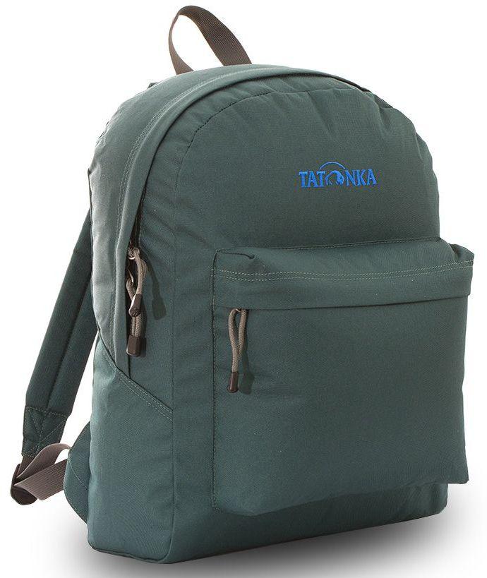 Рюкзак городской Tatonka Hunch Pack 22л, цвет: темно-зеленый, 41x30x17 смDI.6280.190Классический городской рюкзак. Легкий городской рюкзак с большим накладным карманом. Hunch Pack - идеальный спутник во время экскурсии по городу или короткого выезда на природу. В основном отделении достаточно места для объемных вещей, а передний карман с небольшим органайзером отлично подойдет для мелких предметов. Преимущества и особенности: Мягкие плечевые лямки, регулирующиеся по длине Прочная ручка для переноски Два бегунка на основной молнии Мини-органайзер в переднем кармане Вышитый логотип Молния YKK с технологие RC, позволяющей значительно увеличить срок службы молнии