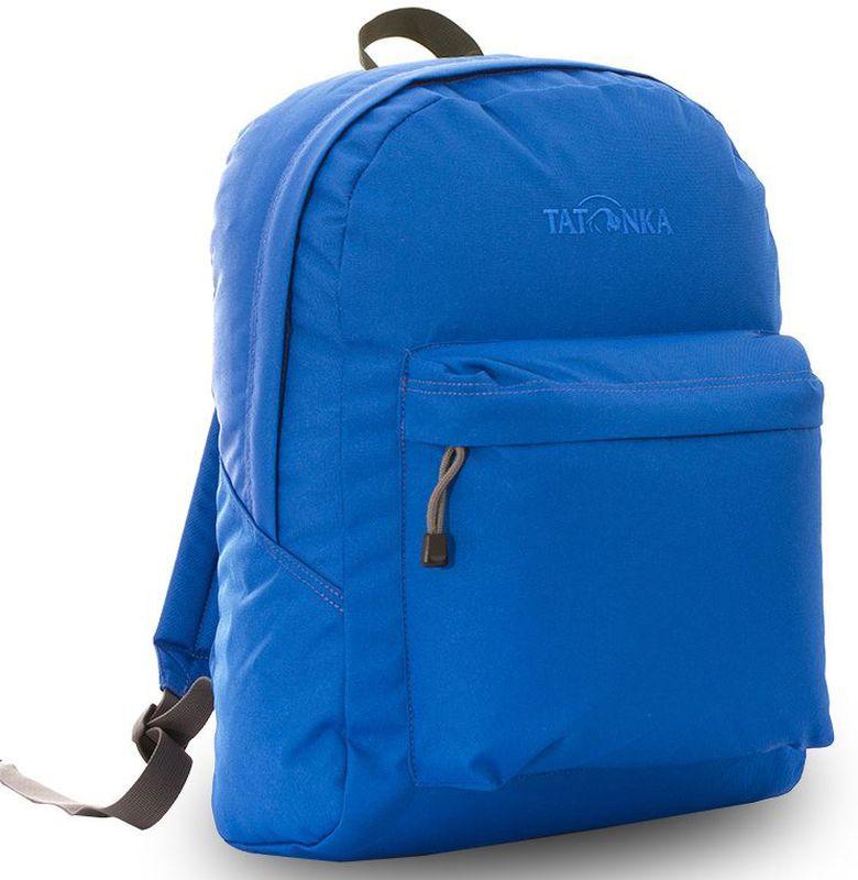 Рюкзак городской Tatonka Hunch Pack 22л, цвет: синий, 41x30x17 смDI.6280.215Универсальный городской рюкзак для учебы, работы и занятий спортом