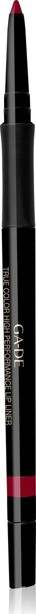 Ga-de Карандаш для губ True Color № 05, 0,35 гр131500005Водостойкий контурный карандаш для губ.Мягкая кремовая текстура предотвращает смазывание и растекание помады в течении дня. Не меняет свой цвет и не тускнеет, подчеркивает естественную форму губ. Формула, обогащенная комплексом керамидов и гиалуроновой кислотой обеспечивает чувственный уход за нежной кожей губ. Не требует затачивания.