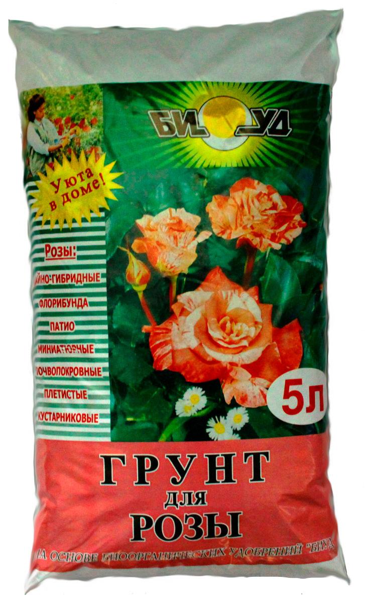 Грунт БИУД, для роз, многокомпонентный, 5 лbiud0007Грунт для растений БИУДгрунт для розы Биогрунт для розы марки БИУД на основе конского навоза предназначен для выращивания комнатных и садовых роз. Роза-светолюбивое растение. Летом очень полезно вынести комнатную розу на балкон. Поливать растение обильно начинают весной. В этот период необходимо ежедневное увлажнение почвы. Осенью полив сокращается до 2 раз в неделю. Пересадку комнатной розы проводят лишь по мере необходимости, если корни полностью заняли все пространство горшка. Садовые растения рекомендуется сразу высаживать на постоянное место. Биогрунт для розы марки БИУД идеально подходит для посадки, перевалки и пересадки этих растений. В его состав входят такие компоненты, как торф верховой, торф низинный, доломитовая крошка, компост БИУД на основе конского навоза, образующие мелкокомковатую зернистую структуру почвы, благоприятную для роста и развития растений, так же в сочтав входят дренажные элементы: песок, щебень мелкий (или керамзит), вермикулит...