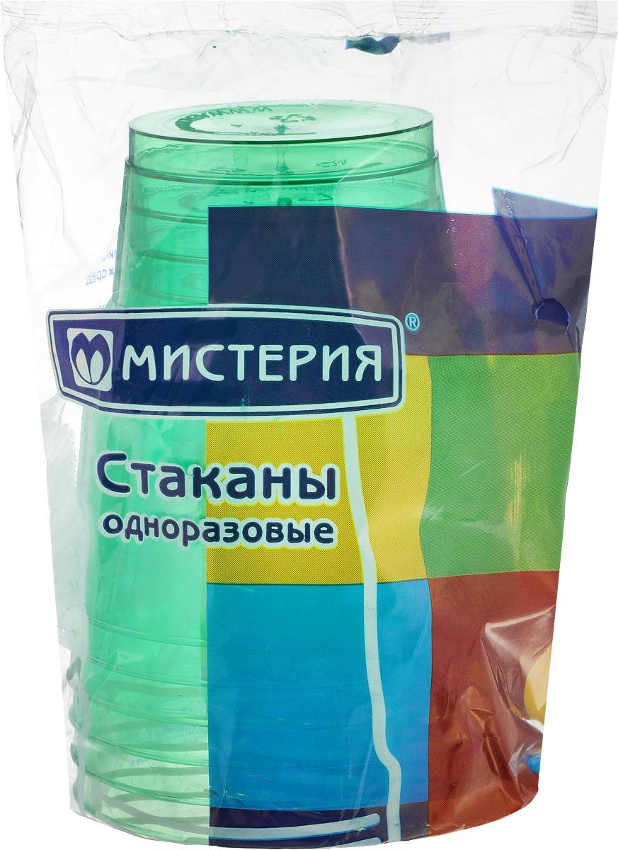 Набор одноразовых стаканов Мистерия Кристалл, цвет: зеленый, 200 мл, 6 шт181000_зеленыйНабор Мистерия Кристалл состоит из 6 стаканов, выполненных из полистирола и предназначенных для одноразового использования. Одноразовые стаканы будут незаменимы при поездках на природу, пикниках и других мероприятиях. Они не займут много места, легки и самое главное - после использования их не надо мыть. Диаметр стакана (по верхнему краю): 7,5 см. Высота стакана: 8 см. Объем: 200 мл.
