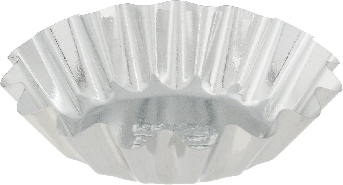 Форма для выпечки Кварц, диаметр 10 смКФ-02.000Форма Кварц, выполненная из высококачественной жести, предназначена для выпечки и приготовления желе. Стенки изделия рельефные. С формой Кварц вы всегда сможете порадовать своих близких оригинальной выпечкой. Диаметр формы (по верхнему краю): 10 см. Высота формы: 2,5 см.