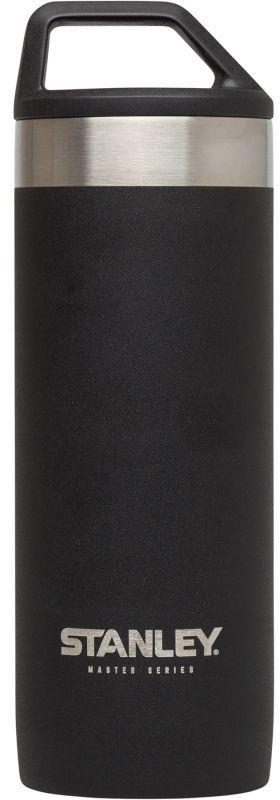 Термокружка Stanley Master, 0,53 л, цвет: черный10-02661-002Термокружка объем 0,53 L.Технология QUADVAC: корпус и внутренная колба - нержавеющая сталь 18/8 толщиной 1 мм. Сохраняет горячую воду – 12 часов, холодную воду – 16 часов, напитки со льдом – 48 часов. Внутренняя сторона крышка с нанесением из нержавеющей стали. Крышка с круглой ручкой. Наружное покрытие – абразивостойкая эмаль. Герметична. Для посудомоечной машины. Цвет - черный. Пожизненная гарантия.
