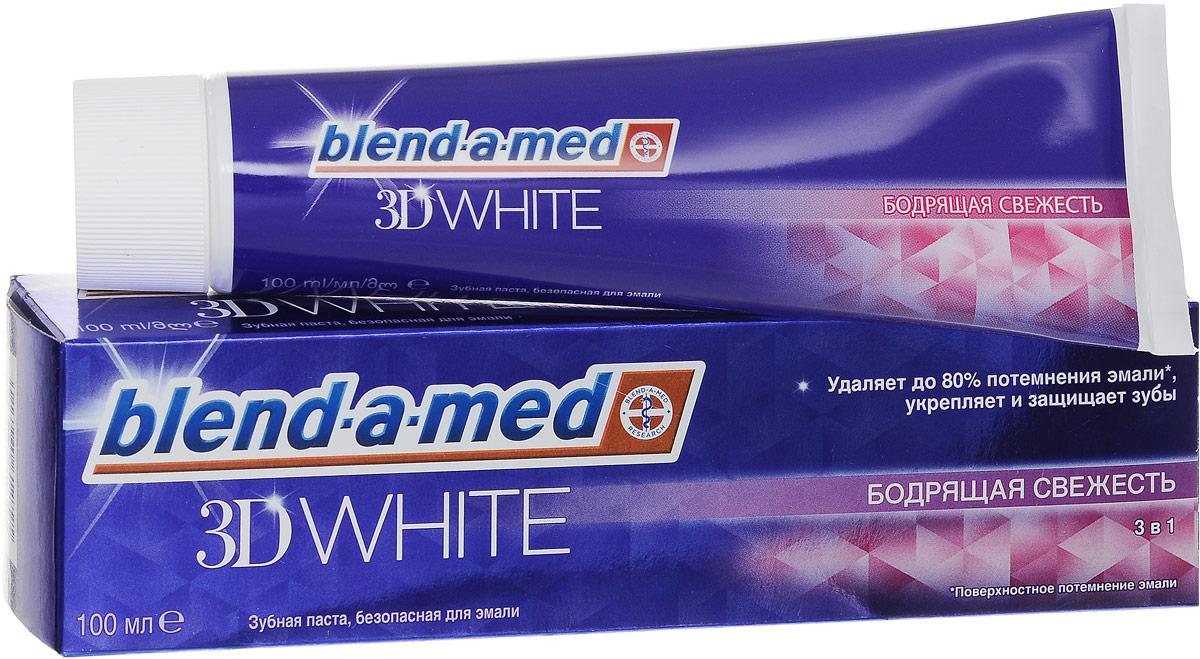 Blend-a-med Зубная паста 3D White Бодрящая свежесть, 100 млBM-81579811