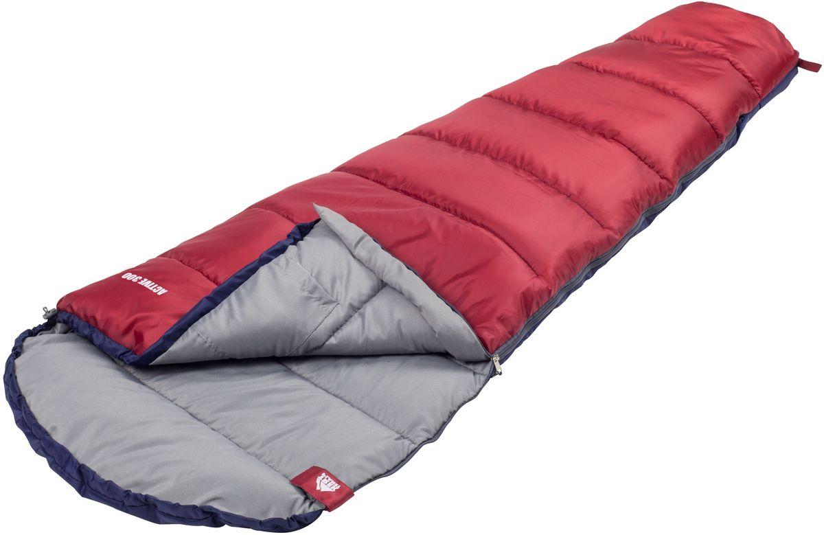 Спальный мешок Trek Planet Active 300, цвет: синий, красный, левосторонняя молния70318-LКомфортный, легкий и компактный спальник-кокон Trek Planet Active 300 - отлично подойдет всем любителям уюта и комфорта во время летнего активного отдыха. Этот спальник пригодится вам во время поездки на пикник, на дачу, во время туристического похода преимущественно в летний период, но сохранит уют и тепло даже при похолодании до +6 градусов! ОСОБЕННОСТИ СПАЛЬНИКА: - Удобный глубокий капюшон, - Затягивающаяся шнуровка по краю капюшона, - Молния с левой стороны, - Термоклапан вдоль молнии, - Внутренний карман, - Небольшой вес, - К спальнику прилагается чехол для удобного хранения и переноски. ХАРАКТЕРИСТИКИ: Цвет: синий/красный t° комфорт: 10°C t° лимит комфорт: 6°C t° экстрим: -5°C. Внешний материал: 100% полиэстер Внутренний материал: 100% полиэстер Утеплитель: Hollow Fiber 1x300 г/м2. Размер: 225 см х 80(50) см. Размер в чехле: 20 см х 20 см х 36 см. Вес: 1,2 кг. Производитель: Китай. ...