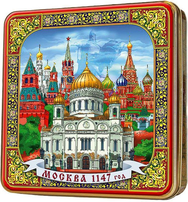 Шкатулка подарочная Москва черный листовой чай PEKOE и OP, 125 г40114Черный чай повышает иммунитет, улучшает работу нервной системы, тонизирует и является хорошим антиоксидантом. При регулярном употреблении черного чая, организм очищается от плохого холестерина. Черный чай способен уменьшать головную боль и снять усталость.