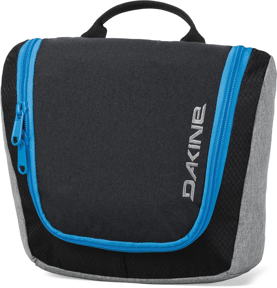 Сумка дорожная Dakine Travel Kit Tabor, цвет: черный, 3 л. 816001000116874 08160010Сумка для косметики. Может подвешиваться за крючок.