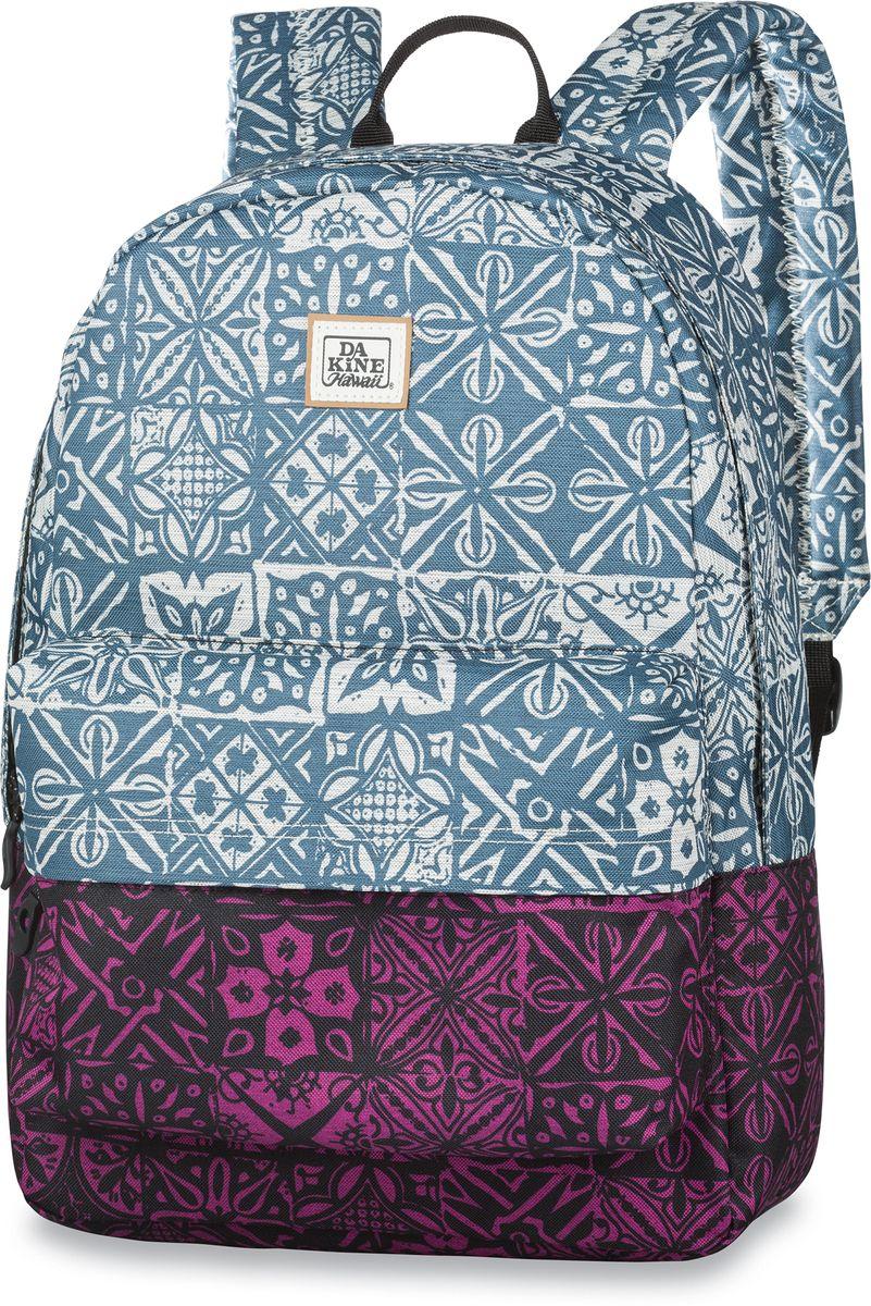 Рюкзак городской Dakine 365 Pack Kapa, цвет: голубой, 21 л. 813008500121621 8130085Городской рюкзак. Однообъемный. С карманом для ноутбука ( до 15) и внешним карманом.