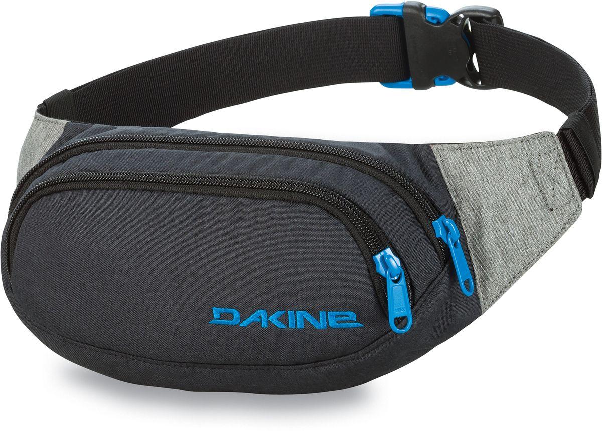 Сумка поясная Dakine Hip Pack Tabor, цвет: черный, 0,6 л. 813020000127094 8130200Поясная сумка с двумя отделениями. Регулируемый поясной ремень.