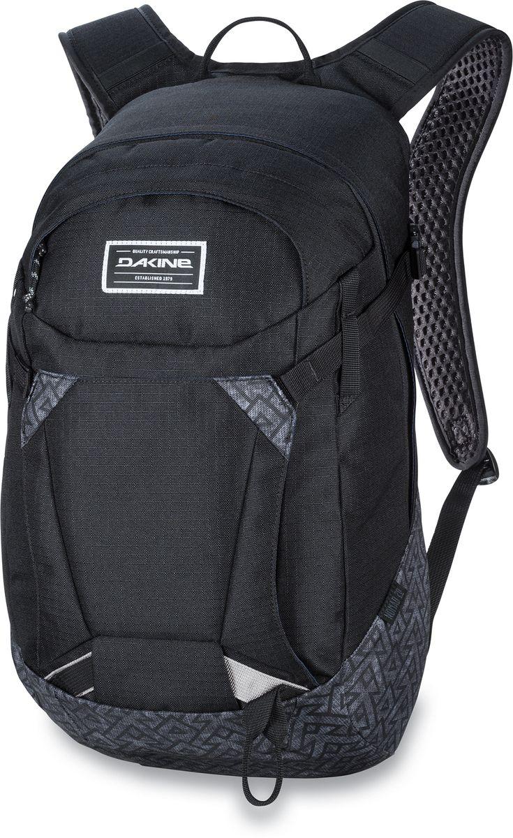 Рюкзак городской Dakine Canyon Stacked, цвет: черный, 20 л. 1000120900126958 10001209Универсальный мультиспортивный рюкзак. С дышащими лямками и вентилируемой спинкой.