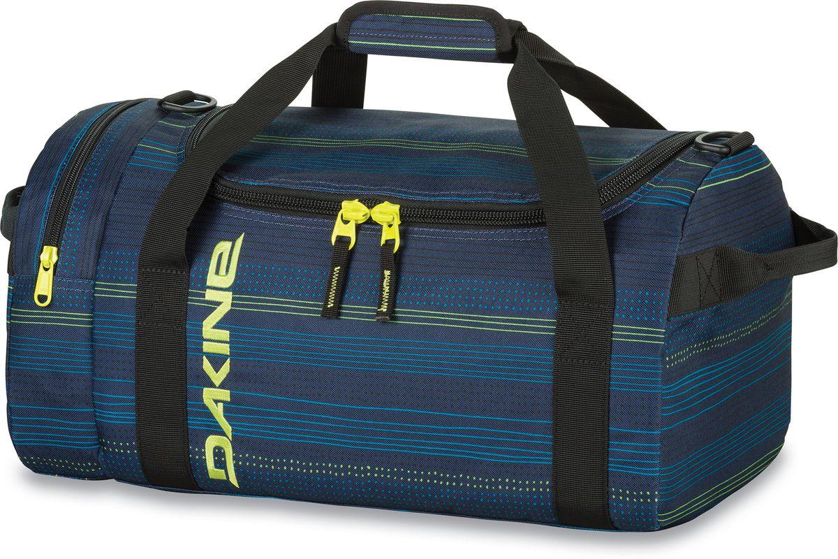 Сумка спортивная Dakine Eq Bag Lineup, цвет: темно-синий, 31 л. 830048300127503 8300483Спортивная сумка. С одним боковым карманом на молнии.