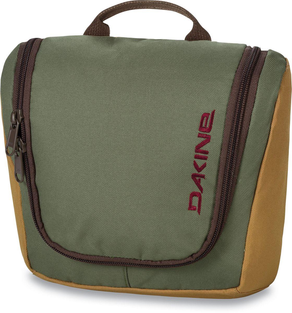 Сумка дорожная Dakine Travel Kit Yondr, цвет: светло-зеленый, 3 л. 816001000127528 8160010Сумка для косметики. Может подвешиваться за крючок.