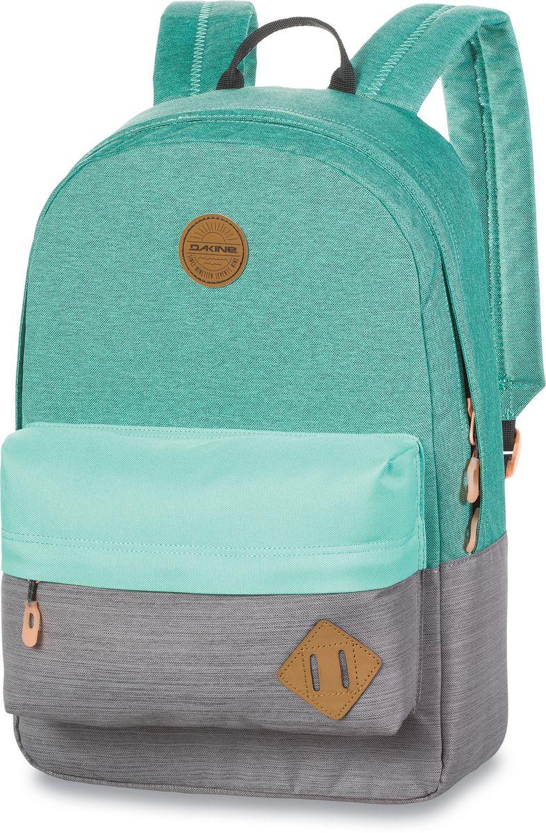 Рюкзак городской Dakine 365 Pack Solstice, цвет: светло-зеленый, 21 л. 813008500127058 8130085Городской рюкзак. Однообъемный. С карманом для ноутбука ( до 15) и внешним карманом.