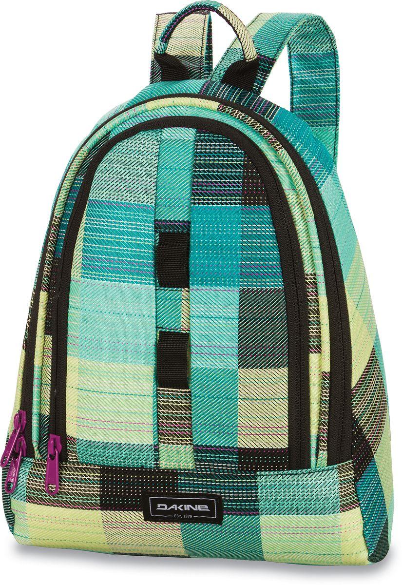 Рюкзак женский Dakine Cosmo Luisa, цвет: светло-зеленый, 6,5 л. 821006000127271 8210060Маленький женский рюкзак. С карманом-органайзером.