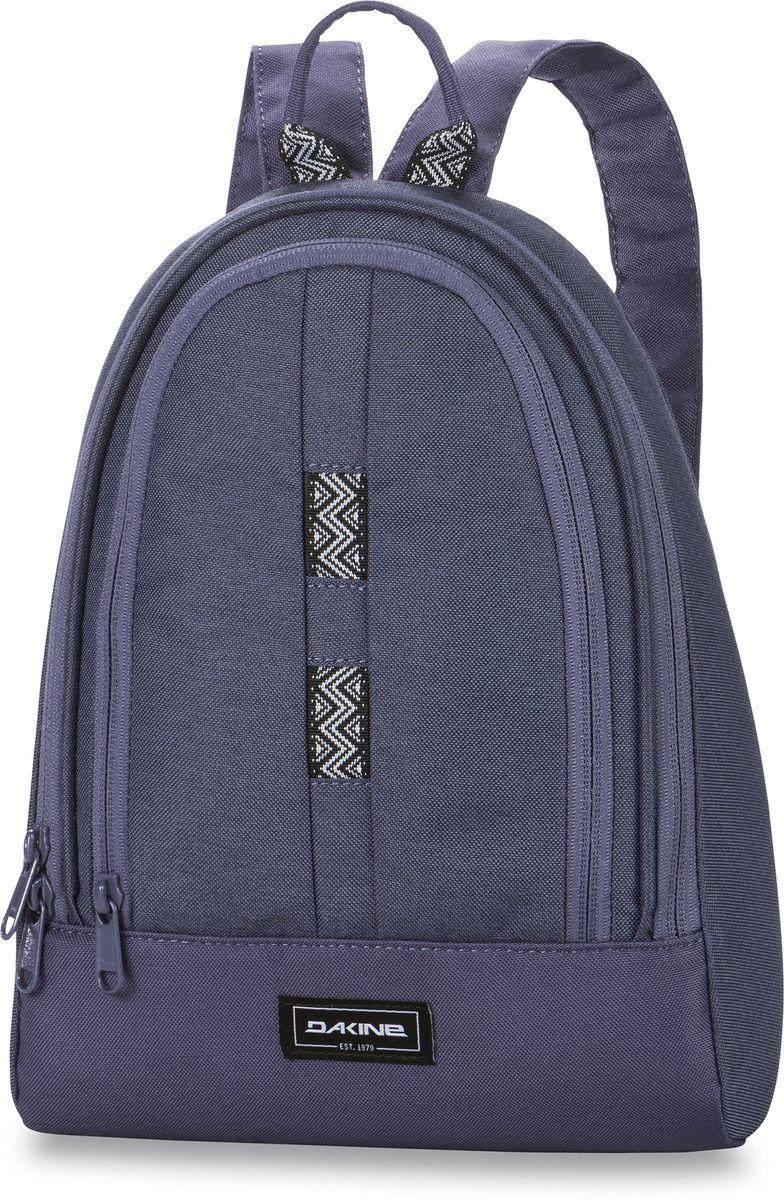 Рюкзак женский Dakine Cosmo Seashore, цвет: сиреневый, 6,5 л. 821006000127272 8210060Маленький женский рюкзак. С карманом-органайзером.