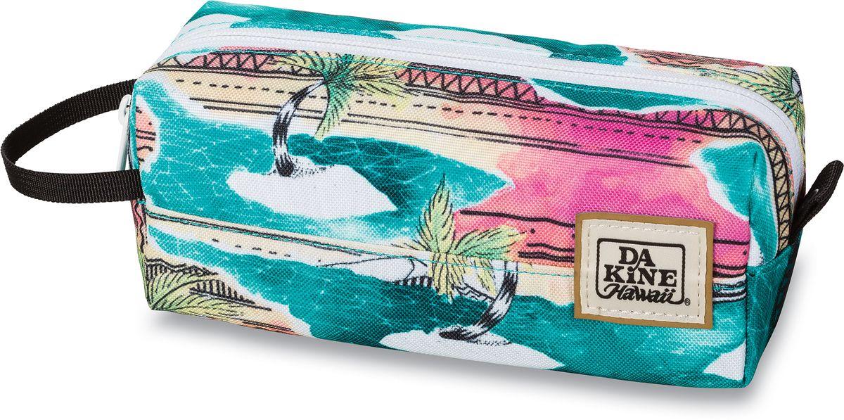 Сумка для аксессуаров женская Dakine Accessory Case Palmbay, цвет: бирюзовый, 0,3 л. 826000500127381 8260005Однообъемный тонкий чехол на молнии. Можно использовать в качестве пенала, косметички, сумочки для проводов…