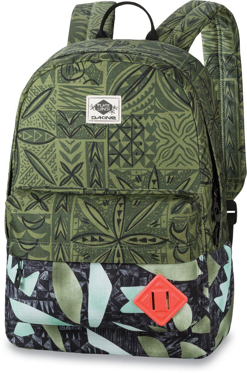Рюкзак городской Dakine 365 Pack Plate Lunch, цвет: зеленый, 21 л. 813008500127063 8130085Городской рюкзак. Однообъемный. С карманом для ноутбука ( до 15) и внешним карманом.