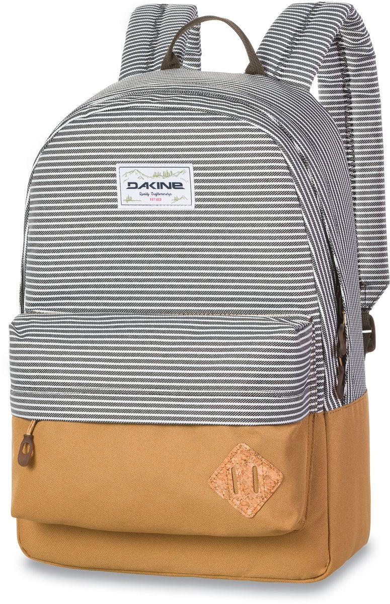 Рюкзак городской Dakine 365 Pack Railyard, цвет: черно-серый, 21 л. 813008500127064 8130085Городской рюкзак. Однообъемный. С карманом для ноутбука ( до 15) и внешним карманом.