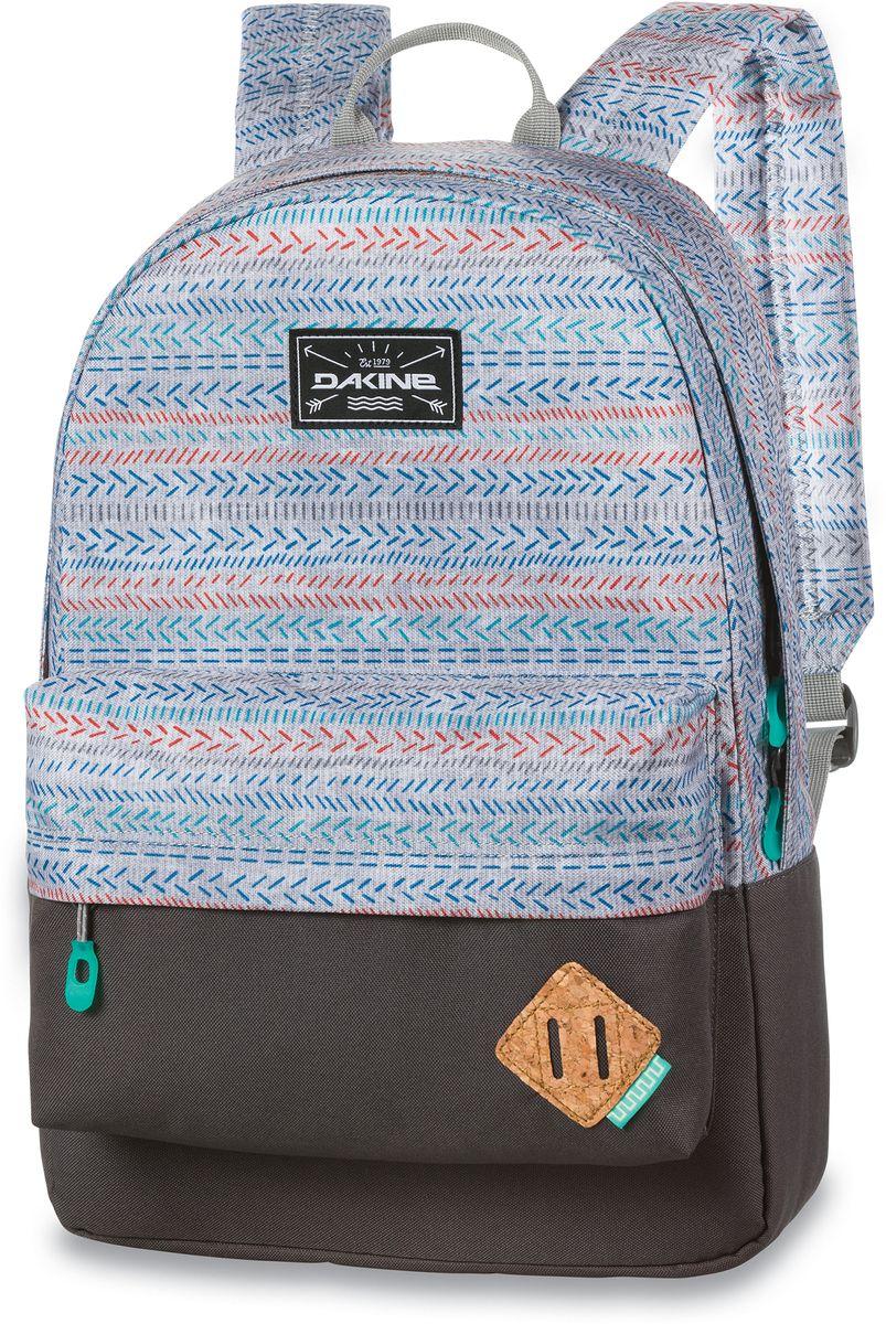Рюкзак городской Dakine 365 Pack Tracks, цвет: светло-серый, 21 л. 813008500127067 8130085Городской рюкзак. Однообъемный. С карманом для ноутбука ( до 15) и внешним карманом.