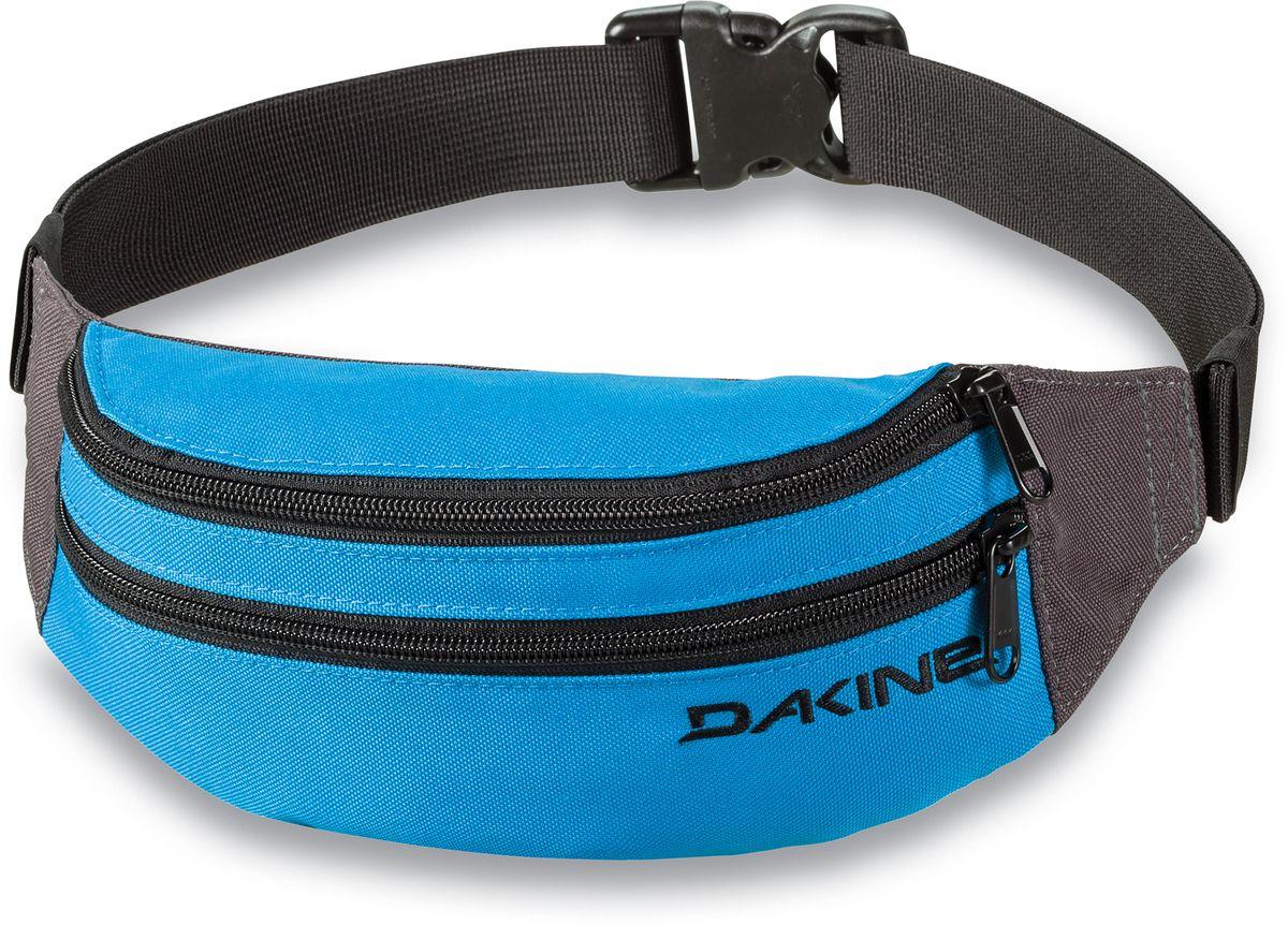 Сумка поясная Dakine Classic Hip Pack Blue, цвет: синий, 0,6 л. 813020500127095 8130205Поясная сумка с двумя отделениями. Регулируемый поясной ремень.