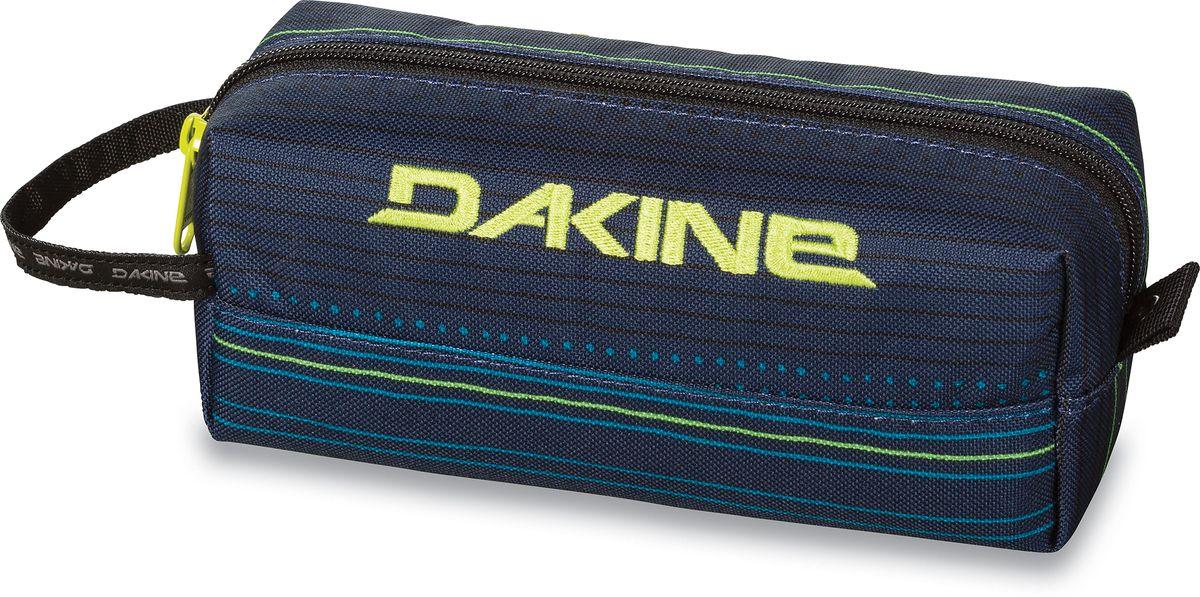 Сумка для аксессуаров Dakine Accessory Case Lineup, цвет: темно-синий, 0,3 л. 816010500127115 8160105Однообъемный тонкий чехол на молнии. Можно использовать в качестве пенала, косметички, сумочки для проводов…